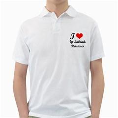 I Love My Labrador Retriever Golf Shirt