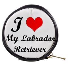 I Love My Labrador Retriever Mini Makeup Bag
