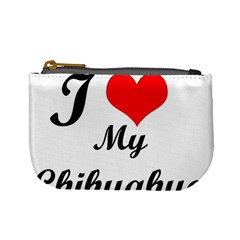 I Love My Chihuahua Mini Coin Purse