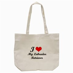 I Love My Labrador Retriever Tote Bag