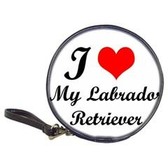 I Love My Labrador Retriever Classic 20-CD Wallet