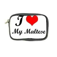I Love My Maltese Coin Purse