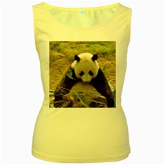 Big Panda Women s Yellow Tank Top