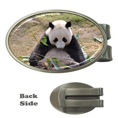 Big Panda Money Clip (oval)