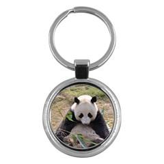Big Panda Key Chain (Round)