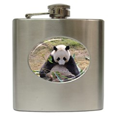 Big Panda Hip Flask (6 oz)