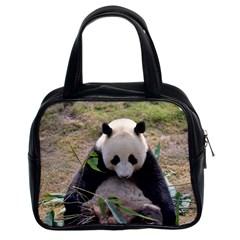Big Panda Classic Handbag (two Sides)
