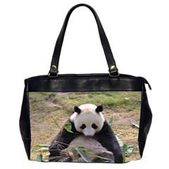 Big Panda Oversize Office Handbag (Two Sides)