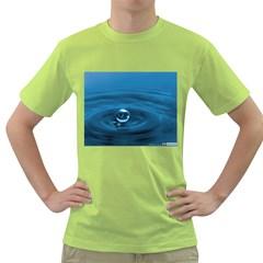 Water Drop Green T-Shirt