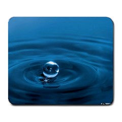 Water Drop Large Mousepad