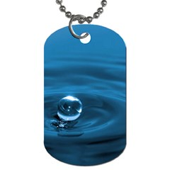 Water Drop Dog Tag Dog Tag Dog Tags (two sides)