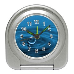 Water Drop Travel Alarm Clock