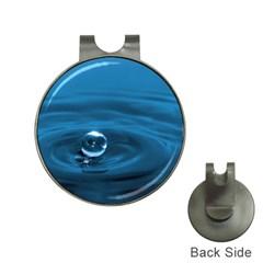 Water Drop Golf Ball Marker Hat Clip