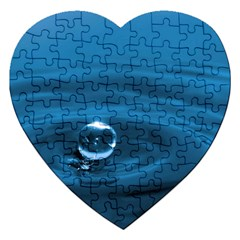 Water Drop Jigsaw Puzzle (heart)