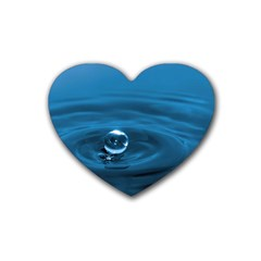 Water Drop Heart Coaster (4 Pack)