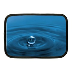 Water Drop Netbook Case (Medium)