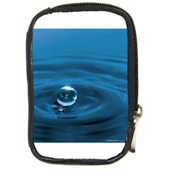 Water Drop Compact Camera Leather Case