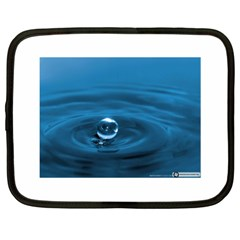 Water Drop Netbook Case (xl)