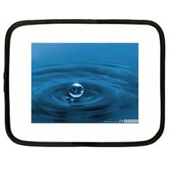 Water Drop Netbook Case (XXL)