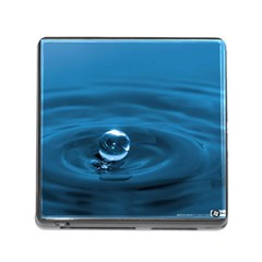 Water Drop Memory Card Reader With Storage (square)