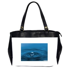 Water Drop Oversize Office Handbag (Two Sides)
