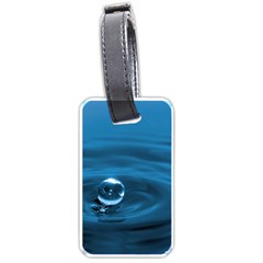 Water Drop Luggage Tag (one side)