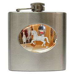 White Horse Hip Flask (6 oz)