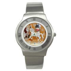 White Horse Stainless Steel Watch