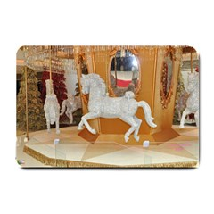 White Horse Small Doormat