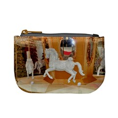 White Horse Mini Coin Purse