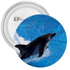 Swimming Dolphin 3  Button