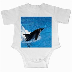 Swimming Dolphin Infant Creeper