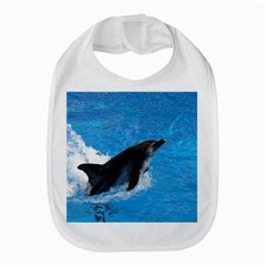 Swimming Dolphin Bib