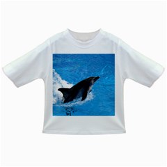 Swimming Dolphin Infant/Toddler T-Shirt