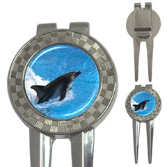 Swimming Dolphin 3-in-1 Golf Divot