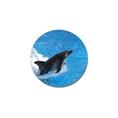 Swimming Dolphin Golf Ball Marker (4 pack)