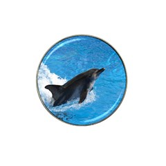 Swimming Dolphin Hat Clip Ball Marker (4 Pack)