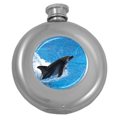 Swimming Dolphin Hip Flask (5 oz)