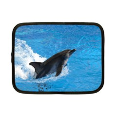 Swimming Dolphin Netbook Case (small)