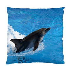 Swimming Dolphin Cushion Case (One Side)