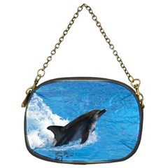 Swimming Dolphin Chain Purse (two Sides)