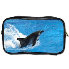 Swimming Dolphin Toiletries Bag (One Side)