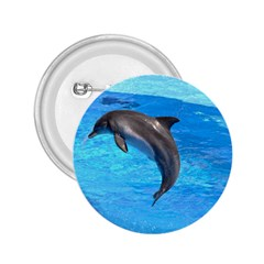 Jumping Dolphin 2.25  Button