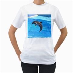 Jumping Dolphin Women s T-Shirt