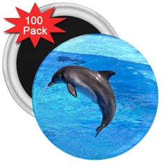 Jumping Dolphin 3  Magnet (100 pack)
