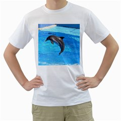 Jumping Dolphin White T-Shirt