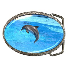Jumping Dolphin Belt Buckle