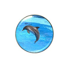 Jumping Dolphin Hat Clip Ball Marker (4 Pack)