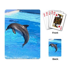 Jumping Dolphin Playing Cards Single Design