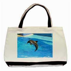 Jumping Dolphin Classic Tote Bag (Two Sides)